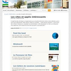 Les sites et applis intéressants - Le blog de la médiathèque Maupassant