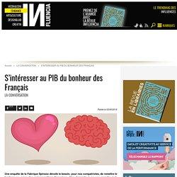 S'intéresser au PIB du bonheur des Français