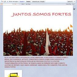 """Juntos Somos Fortes: Uma breve história da luta da grande mídia contra os interesses nacionais Leandro Severo (*) A ordem estava dada: """"informar"""", influenciar e motivar"""