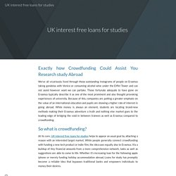 Funding Your Study Abroad Program
