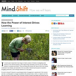 How the Power of Interest Drives Learning
