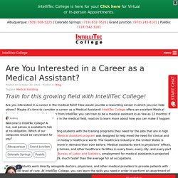 Are You Interested in a Career as a Medical Assistant?