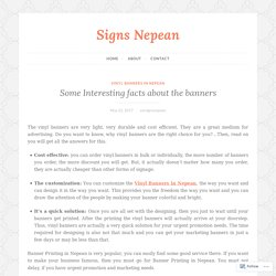 Some Interesting facts about the banners – Signs Nepean
