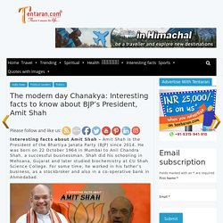 Amit Shah biography political career