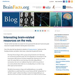 Interesting brain-related resources on the web.