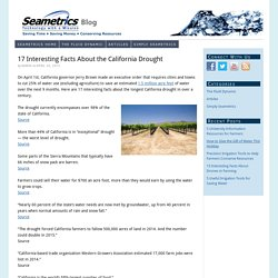 17 Interesting Facts About the California Drought