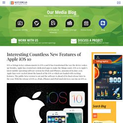 Interesting Countless New Features of iOS 10