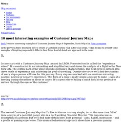 10 most interesting examples of Customer Journey Maps - Uxeria Blog