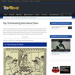 Top 10 Interesting Facts About Chess