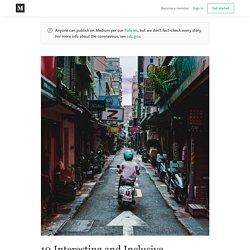 10 Interesting and Inclusive (COVID19 Triggered) Citizen Moves