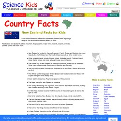 Fun New Zealand Facts for Kids - Interesting Information about NZ