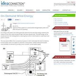 On-Demand Wind Energy