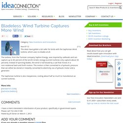 Bladeless Wind Turbine Captures More Wind
