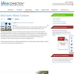Bird Safe Wind Turbine