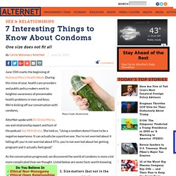 7 Interesting Things to Know About Condoms