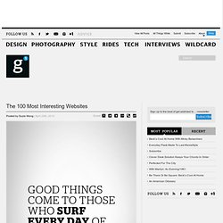 The 100 Most Interesting Websites