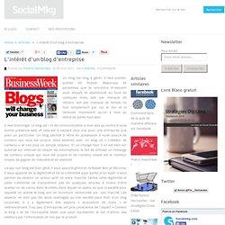 L'intérêt d'un blog d'entreprise