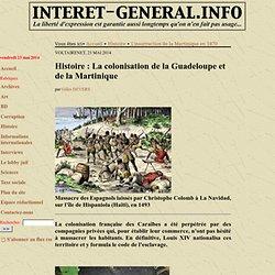 1625 conquête française Guadeloupe Martinique