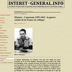 1955-1962 guerre cachée de la France en Afrique