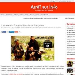 Les intérêts français dans le conflit syrien