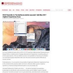 """OS X Yosemite: la """"5a interfaccia utente nascosta"""" stile Mac OS 7 migliora l'esperienza d'uso"""