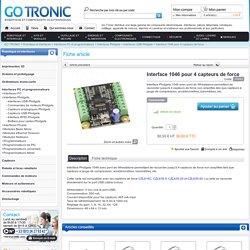 Interface 1046 pour 4 capteurs de force