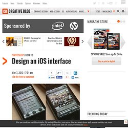 Design an iOS interface
