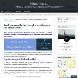 Prezi: une nouvelle interface plus intuitive pour vos présentations