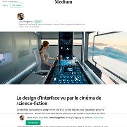 Le design d'interface vu par le cinéma de science-fiction