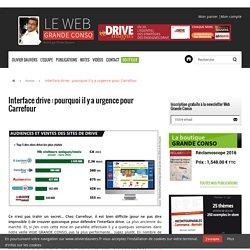 Interface drive : pourquoi il y a urgence pour Carrefour