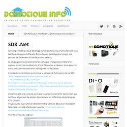 SDK.NET pour interfacer sa Domotique avec la Zibase