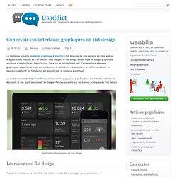 Concevoir vos interfaces graphiques en flat design