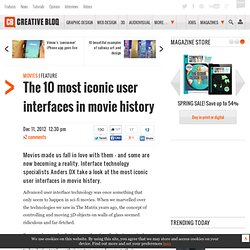 The 10 most iconic user interfaces in movie history