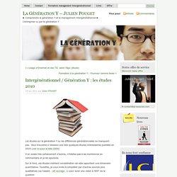 Intergénérationnel / Génération Y : les études 2010