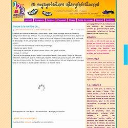 6è voyage-lecture intergénérationnel » Blog Archive » Illustrer à la manière de….