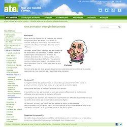 Animation intergénérationnelle- ATE Association transports et environnement