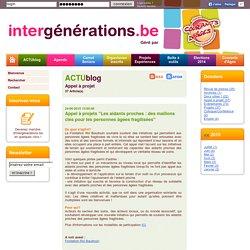 intergénérations.be - Portail de l'intergénération en belgique