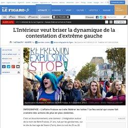 L'Intérieur veut briser la dynamique de la contestation d'extrême gauche