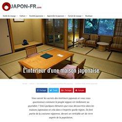 L'intérieur d'une maison japonaise