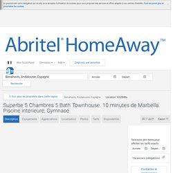 Superbe 5 Chambres 5 Bath Townhouse. 10 minutes de Marbella. Piscine intérieure, Gymnase - Andalousie - 1032848