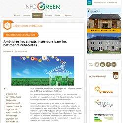 Améliorer les climats intérieurs dans les bâtiments réhabilités