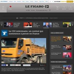 Le CDI intérimaire, un contrat qui commence à percer en France