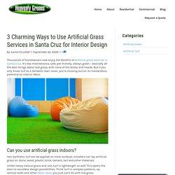Interior Design Ideas Using Artificial Grass Services in Santa Cruz