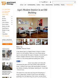 Aga's Modern Interior in an Old Building House Call