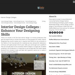 Interior Design Colleges - rmidelhi