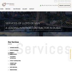Interior contractors in Dubai