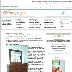 Home Decorating Ideas - Decorating Tips for Apartment - Home - Studio - Dorm - Rental Decorating Digest