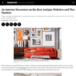 An Interior Decorator on the Best Antique Websites and Flea Markets