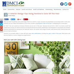 11 Interior Design Tips Using Pantone's Color Of The Year