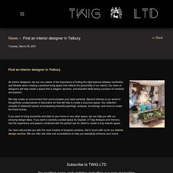 Find an interior designer in Tetbury : Twig Antiques and Interiors